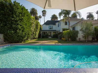 Photo for Luxurious Home in Flat Beverly Hills Large Pool & Sunny Garden