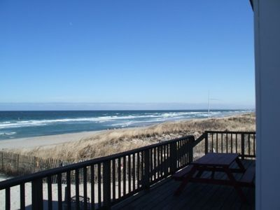 Panoramic Views Of East Sandwich Beach & Cape Cod Bay From Our Deck