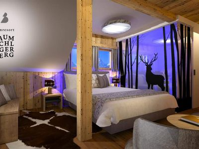 Photo for Double room A with shower, WC - Almresort Baumschlagerberg