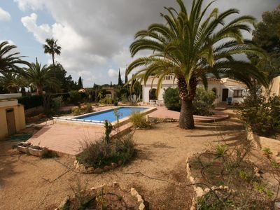Photo for Spacious summer house with 3 bedrooms; 6 beds, private pool, wifi, sea and mountain view