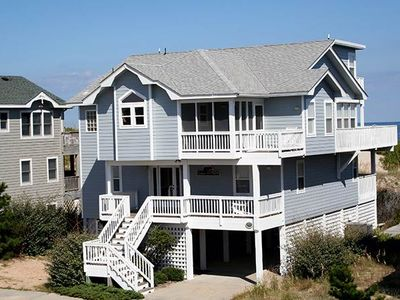 Photo for #OL1: OCEANFRONT in Corolla w/Hot Tub, RecRm & Outdoor Com.Pool