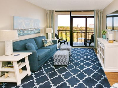 Photo for Beautifully Updated 1BR Condo with Sweeping Ocean Views and Great Location!