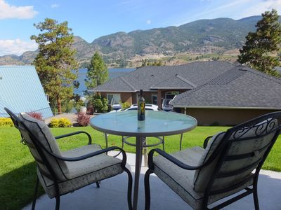 Photo for Beach House in Kaleden, Overlooking Picturesque Skaha Lake