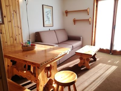 Photo for Nice and comfortable one bedroom apartment very close to the installations