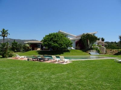 Photo for Superb villa of 600 m2 in garden of 6000 m2 swimming pool and panoramic view