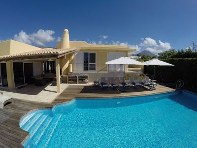 Photo for LUXURY VILLA DAILY HOUSEKEEPING PRIVATE  POOL HEATED 28 o celcius  SEAVIEW GOLF
