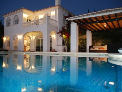 Photo for Luxurious villa with pool and fantastic view  (Africa, Malaga and the sea)