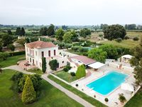 A fantastic country house with extensive gardens and a fabulous pool