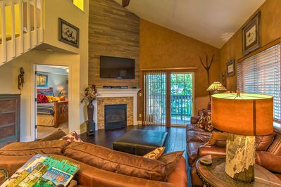 This Steamboat Springs vacation rental features an open, remodeled interior.