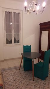 Photo for 1 room for 2 people max in large T4 90 m2, in the center of Bastia