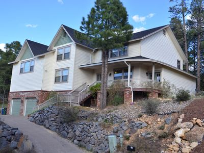 Photo for You Deserve a Luxury Mountain Getaway in this Dream Home with Jacuzzi Tub!