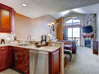 Photo for FREE RAFTING! Penthouse w/ Mountain Views, Deck & Steam Shower! Pool, Hot Tub, Gym, Free Shuttle