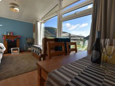 Photo for Stunning 2 Bedroom Chalet furnished to high standard, Sleeps 4,Fantastic Views