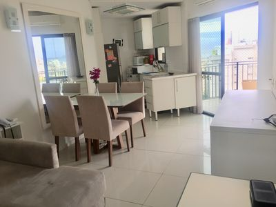 Photo for Beautiful apartment in Copacabana, panoramic view to the sea