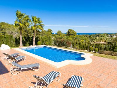 Photo for 5BR Villa Vacation Rental in Javea, Costa Blanca