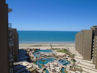 Photo for Upgraded Las Palomas 3 Bed Luxury Penthouse! Massive Patio, Ocean Views!