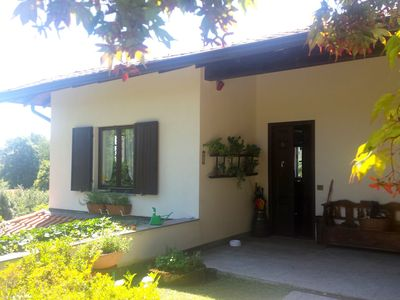 Photo for House on Lake Maggiore, in the village of Gignese, with panoramic mountain views
