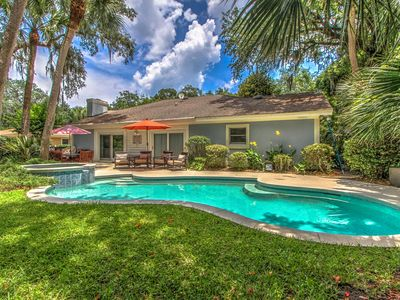 Photo for New Listing! Spacious 3rd-Row Oasis w/ Private Pool, Spa & Beach Access