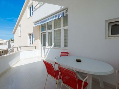 Photo for Two bedroom apartment with terrace and sea view Duće, Omiš (A-18155-d)