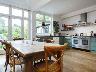 Photo for 3 bed home perfect for families close to the spectacular Alexandra Palace- Veeve