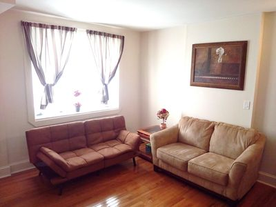 Photo for South Philly whole 3-br house, min to Stadiums, easy to C City, free st. parking
