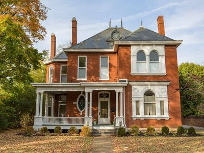 Photo for Beautiful Victorian home right off the downtown square