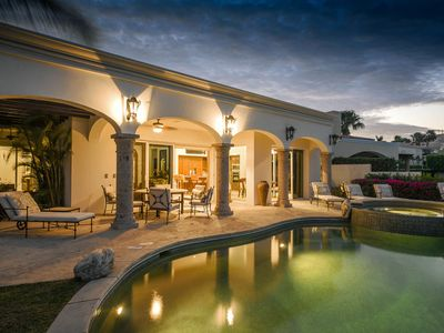 Photo for Stunning 4 BR Luxury Villa w/ Ocean View, Private Pool & Outdoor Fireplace!