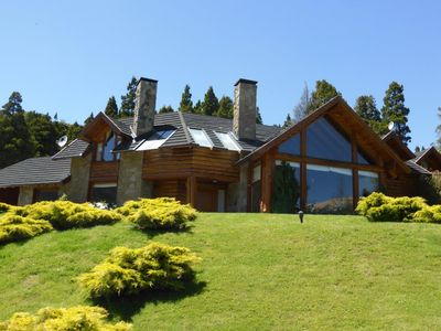 Photo for Stunning and unique 330 sq m mountain style home in Bariloche