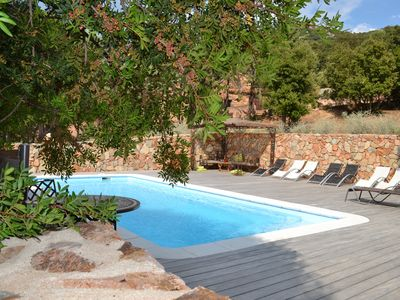 Photo for Villa with heated pool between Porto Vecchio and Bonifacio 10 minutes from the beaches