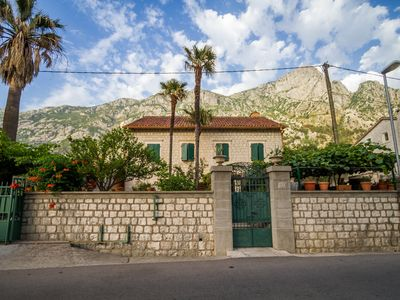 Photo for Apartment for 6 persons with Garden on Waterfront in Dobrota, Kotor