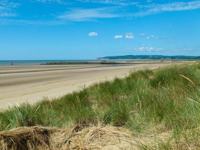 Camber Sands within walking distance