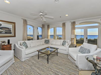 Photo for Great Rates !! Gorgeous Gulf-front 3BD 3BA  Location, Pool, Beachfront, VIEWS!!!