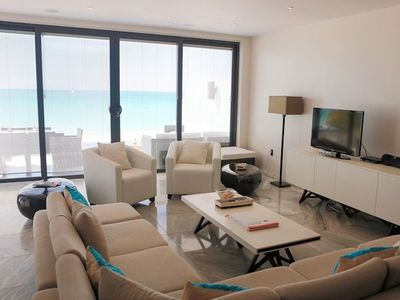 Photo for Beachfront 3 bedroom townhouse at Ffryes Beach