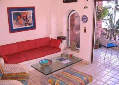 Our Livingroom Decorated with Mexican Art and Crafts