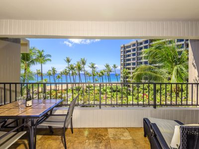 Photo for Kaanapalii Alii  Luxury Condo Epic Sunsets & Ocean Views -July Gap Special $550