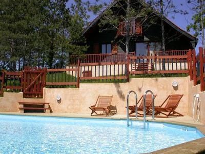 Photo for Cottage with private pool Lot Dordogne border