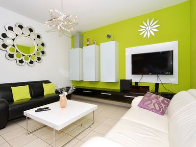 Photo for LOLA 2 stylish apartment, 100m from the beach - pet friendly