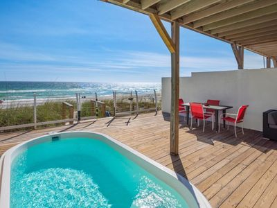 Photo for The Sand Bar - New Beachfront Swimming Pool Heated WIth Fee