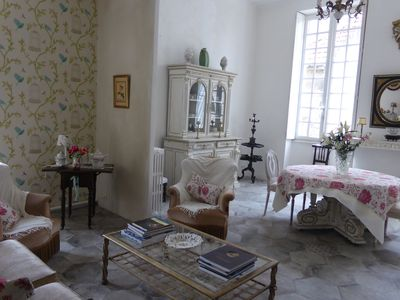 Photo for Terrace and calm in the heart of the historic center of La Bastide