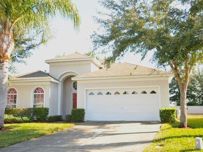 Photo for Spacious 4 BR/3BA family villa, Close to Disney, Private pool and hot tub