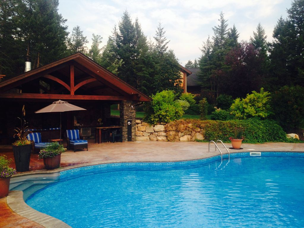 Luxury Cabin With Swimming Pool Windermere British Columbia Mountains British Columbia