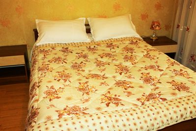 This gorgeous double bedroom is ideal for a single person or couple.