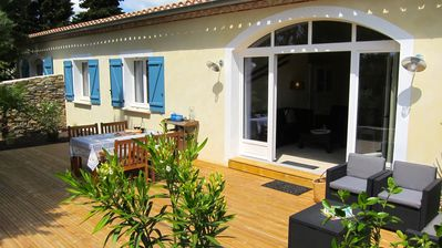Photo for Superb child friendly holiday house w. shared pool near Carcassonne