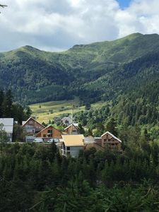 Photo for rent apartment in the heart of the ski resort of lioran along the piste