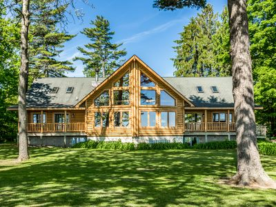 Photo for Lexington - Lake Huron - Large Log Home - Sandy Beach/Sunrise