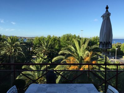 Photo for THE VICTORIA  2BEDROOM SEAVIEW LUXURY TOP FLOOR SPACIOUS FLAT CENTRE OF SANARY