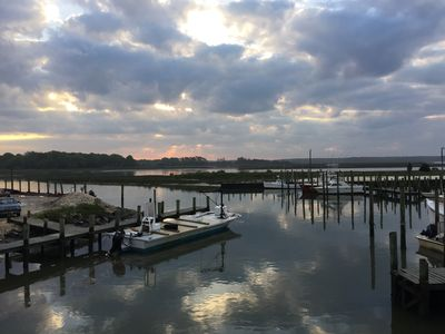 Photo for Relaxing Retreat on Seaside-short drive to beaches, water views from back porch