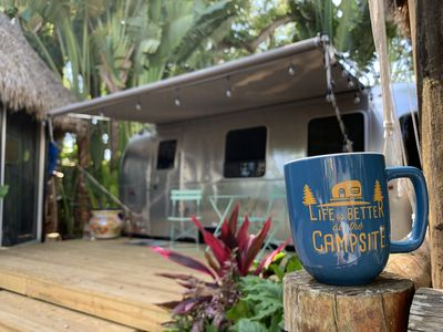 "Photo for Airstream ""Glamping ""in Miami"