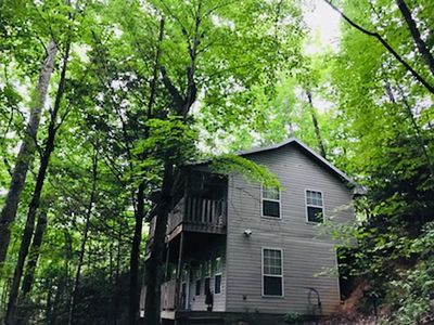 Photo for Very Roomy and Secluded Cabin in Chalet Village Gatlinburg(1300 sqft)