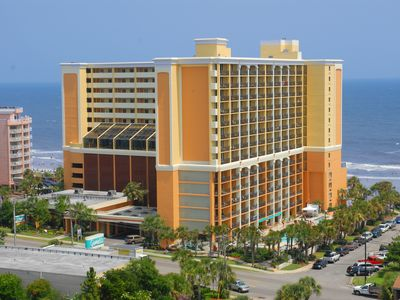 Photo for Gorgeous Caravelle Resort Oceanfront King Efficiency